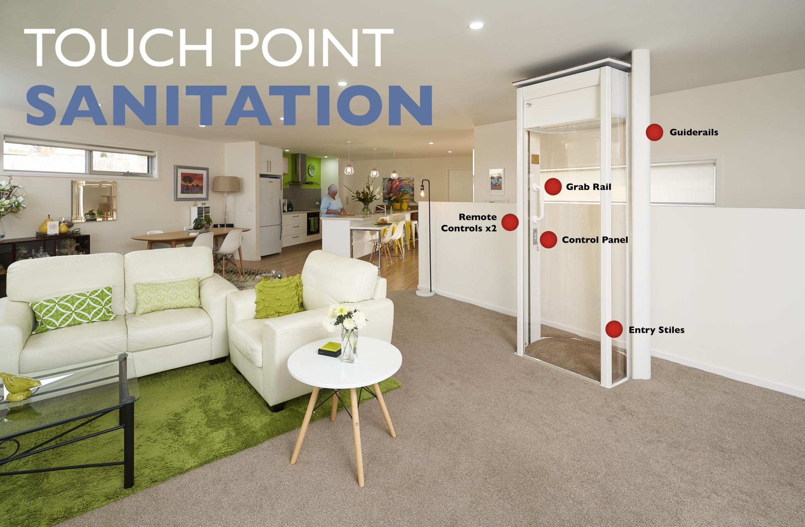 Covid touch points sanitisation